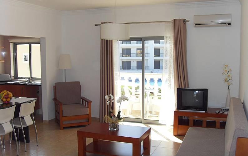 Apartments Living-room Algarve-Faro Albufeira Apartment - Living-room