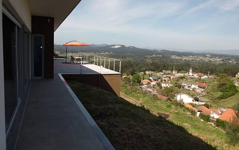 Casa Vistas da casa Viana do Castelo Valença Villa rural - Vistas da casa