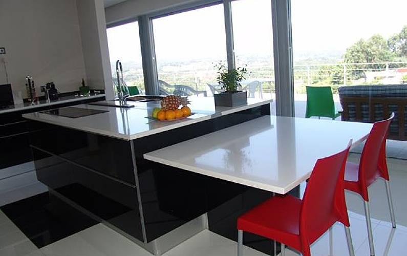 Casa Cozinha Viana do Castelo Valença Villa rural - Cozinha