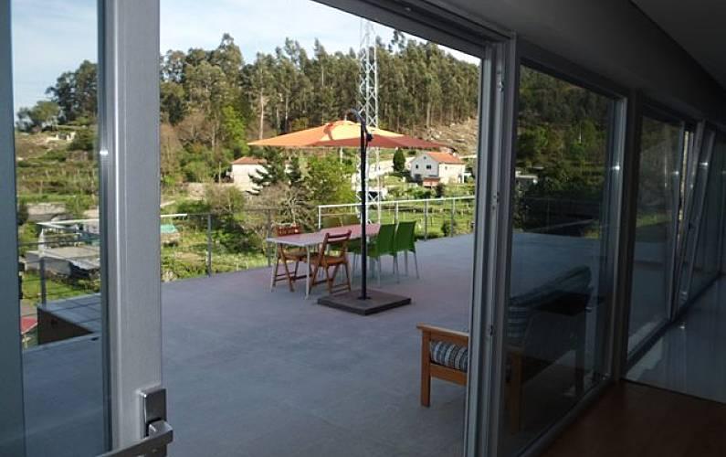 Casa Terraço Viana do Castelo Valença Villa rural - Terraço