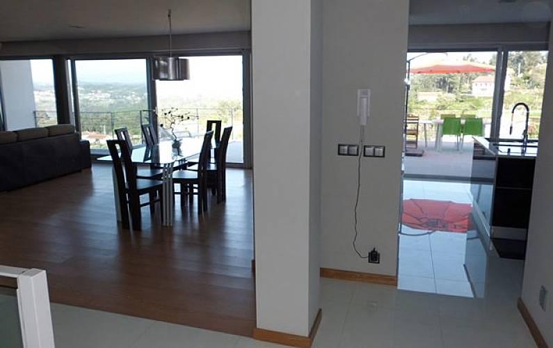 Casa Sala de Jantar Viana do Castelo Valença Villa rural - Sala de Jantar