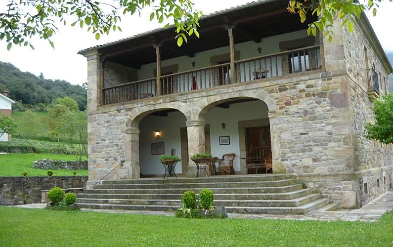 Picos de europa. Potes. Villa para 10 personas Cantabria - Exterior del aloj.