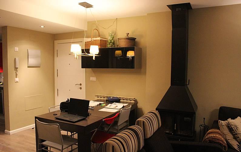 Luxury Dining-room Huesca Sallent de Gállego Apartment - Dining-room