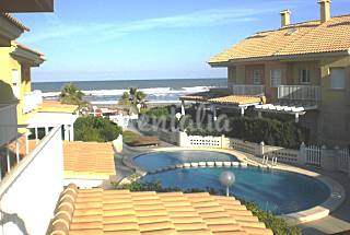 House for 6 people on the beach front line Valencia