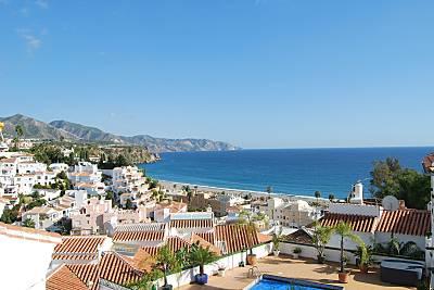 Adosado de 3 dormitorios con preciosas vistas al mar Málaga