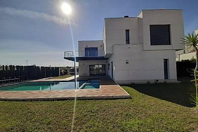 Villa para 8-10 personas a 1000 m de la playa Murcia