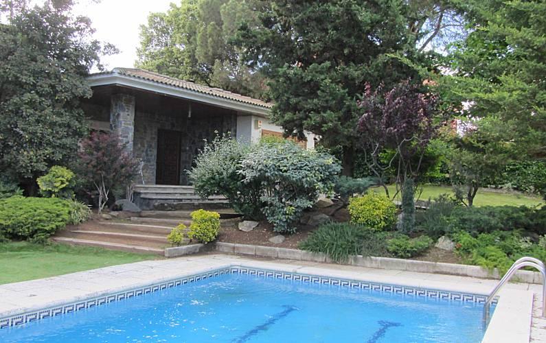 Villa en location avec piscine sant antoni de vilamajor - Villa barcelone avec piscine ...