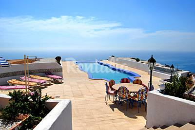 Vivenda para 8-10 pessoas a 500 m da praia Almeria