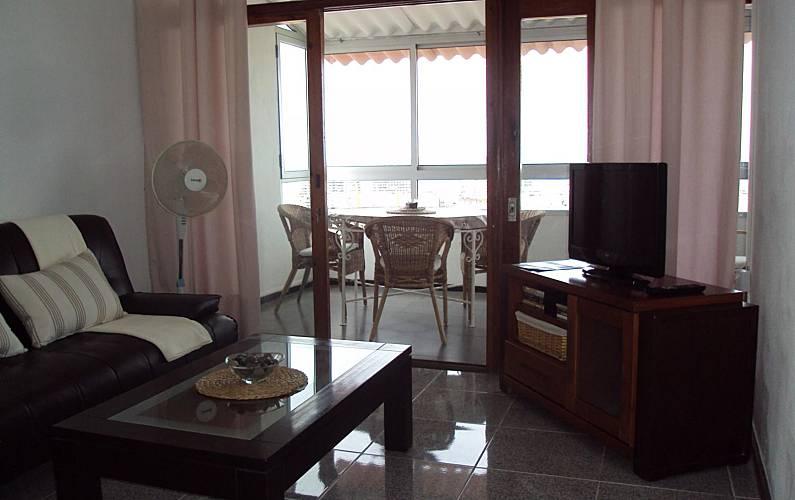 Apartment Living-room Gran Canaria Las Palmas Apartment - Living-room