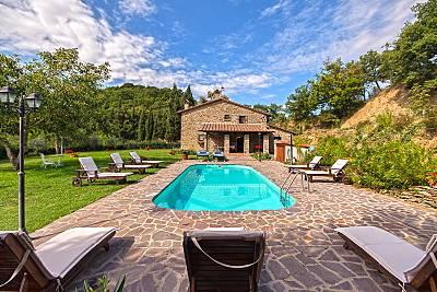 Grande villa con piscina & terraza Arezzo