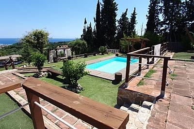 Villa para 6-11 personas a 3 km de la playa Barcelona