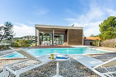 Casa con piscina privada cerca de la playa Girona/Gerona