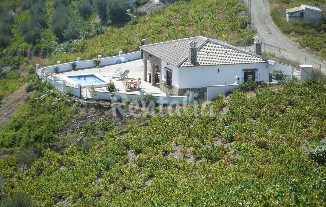 Casa en alquiler con piscina Málaga