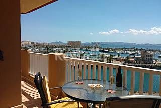 Lovely 2 bed apartment - Stunning views of Marina Murcia