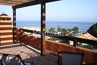 Ático con garaje y vistas al mar en Estepona  Málaga