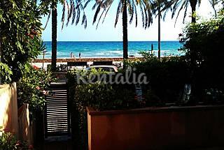 Apartamento de 3 habitacione en 1a línea de playa  Tarragona