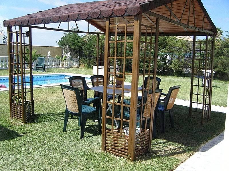 Villa en alquiler con piscina privada chiclana chiclana for Piscinas chiclana