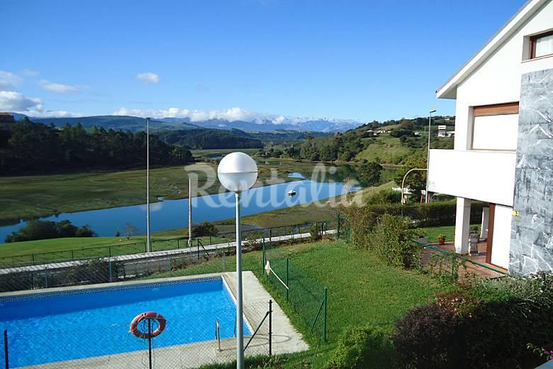 Vacaciones costa de cantabria a 10 km de asturias san - Piscina san vicente ...