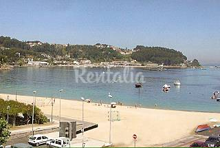 Apartment for 2 people on the beach front line Pontevedra