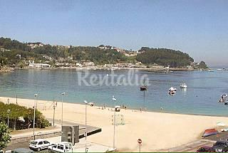 Apartamento para 2 personas primera linea de playa Pontevedra