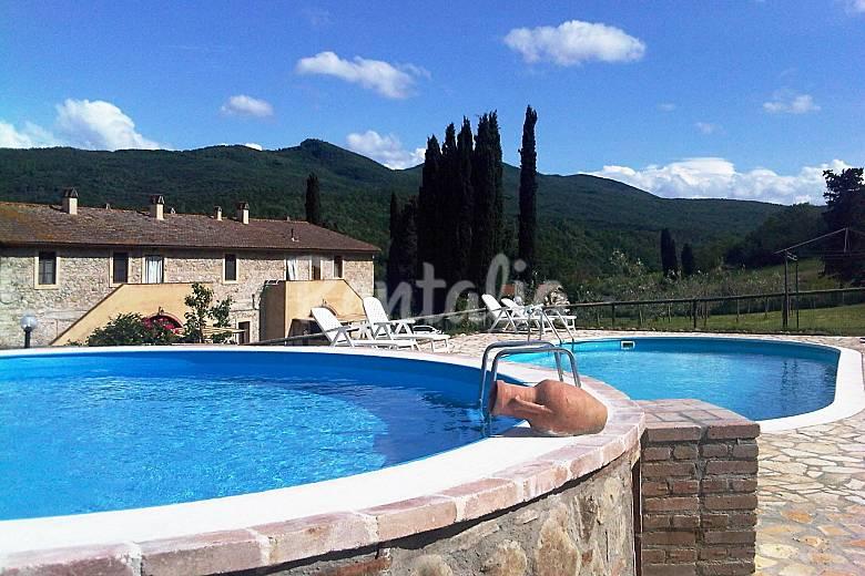 Appartamenti in agriturismo con piscina chianni pisa colline pisane - Appartamenti con piscina ...