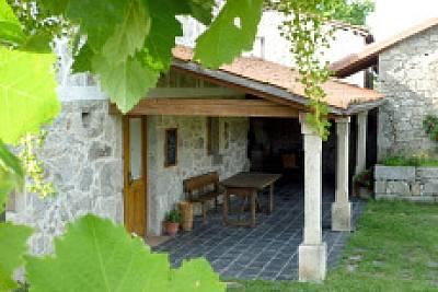 Casa rural en Ribeira Sacra alquiler completo Lugo