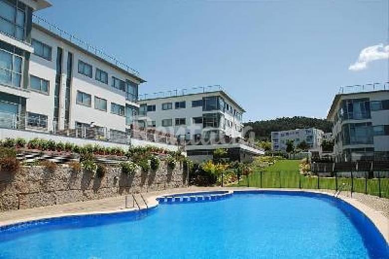 2 pisos en urb punta canide playa piscina mera - Piso en la coruna ...