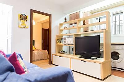 Apartamento para 4-6 personas en Cadiz junto Playa Cádiz