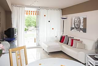 Appartement met 2 slaapkamers op 400 meter van het strand Gerona