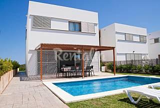 Villa para 8 personas cerca de la playa de C.Bosch Menorca