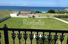 Vivienda de 6 plazas a 50 metros de la playa Lugo