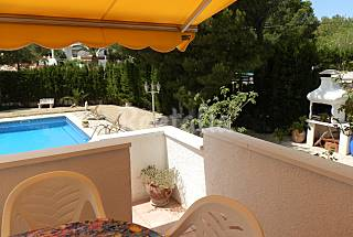 Villa for 6 people 3 km from the beach Tarragona