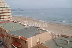 Apartamento de 2 habitaciones en 1a línea de playa Murcia