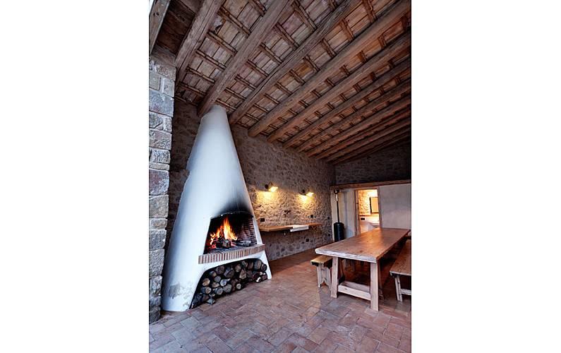 La Exterior del aloj. Lleida/Lérida Bassella Casa en entorno rural - Exterior del aloj.