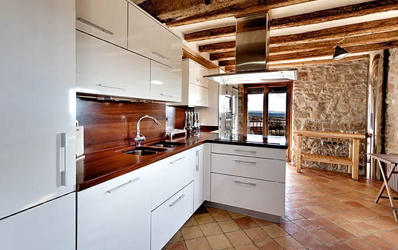 La Cocina Lleida/Lérida Bassella Casa en entorno rural - Cocina