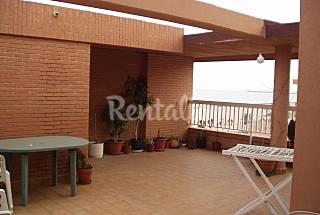 Atico 3 habitaciones frente al mar 40m de la playa Valencia