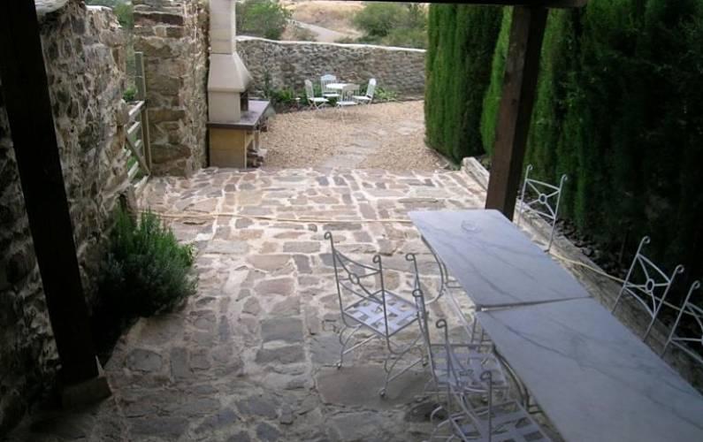 Casa Terraza Soria Arévalo de la Sierra Casa en entorno rural - Terraza