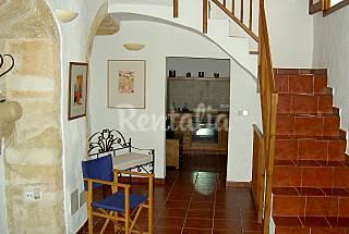 Typical Minorca´s house in the city of Ciutadella Minorca