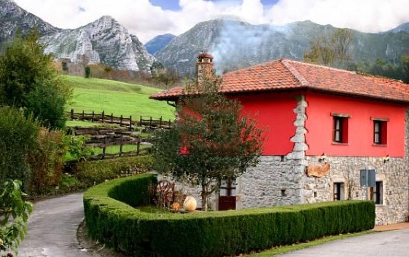 Casa para 8 personas con jardín privado Asturias - Exterior del aloj.