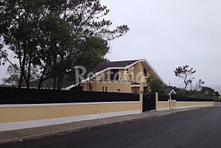 Beach front line villa Porto