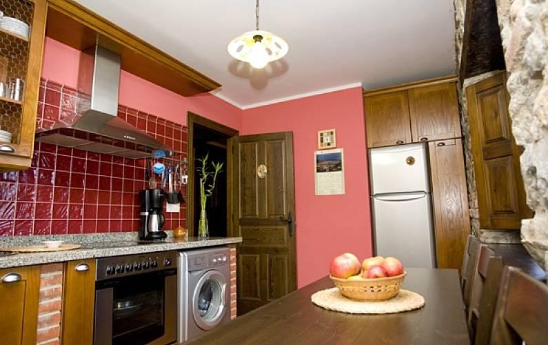 Casa Cocina Asturias Ribadesella Casa en entorno rural - Cocina
