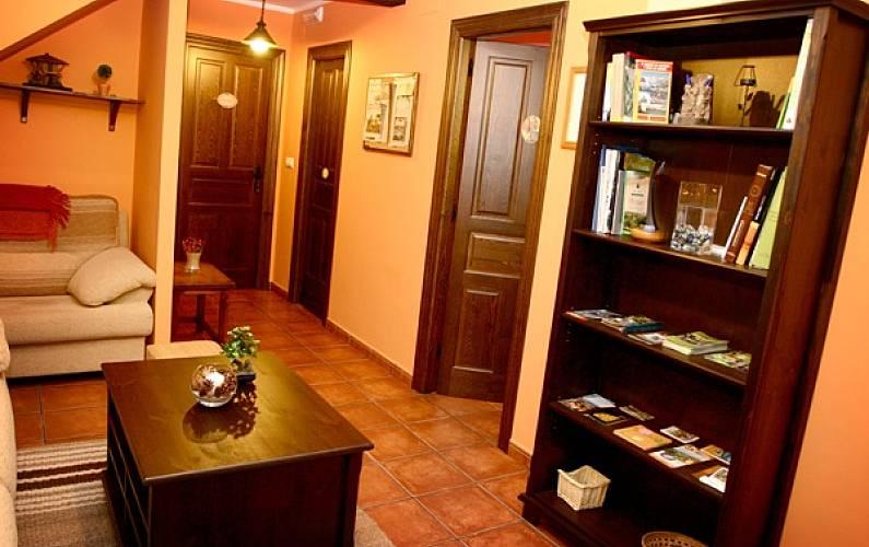 Casa Salón Asturias Ribadesella Casa en entorno rural - Salón