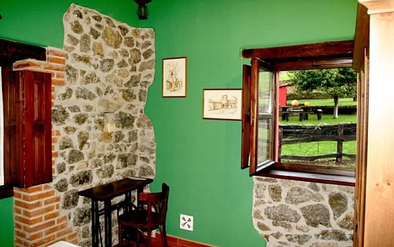 Casa Habitación Asturias Ribadesella Casa en entorno rural - Habitación
