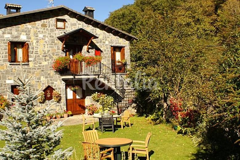 5 casas p n ordesa y monte perdido sarvise broto - Casas con jardines bonitos ...