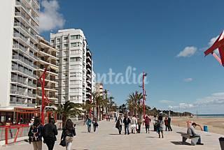 Apartamento 6 personas 1ª Linea,   a 100 m.  playa Castellón