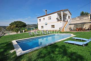 House with 4 bedrooms 10 km from the beach Girona