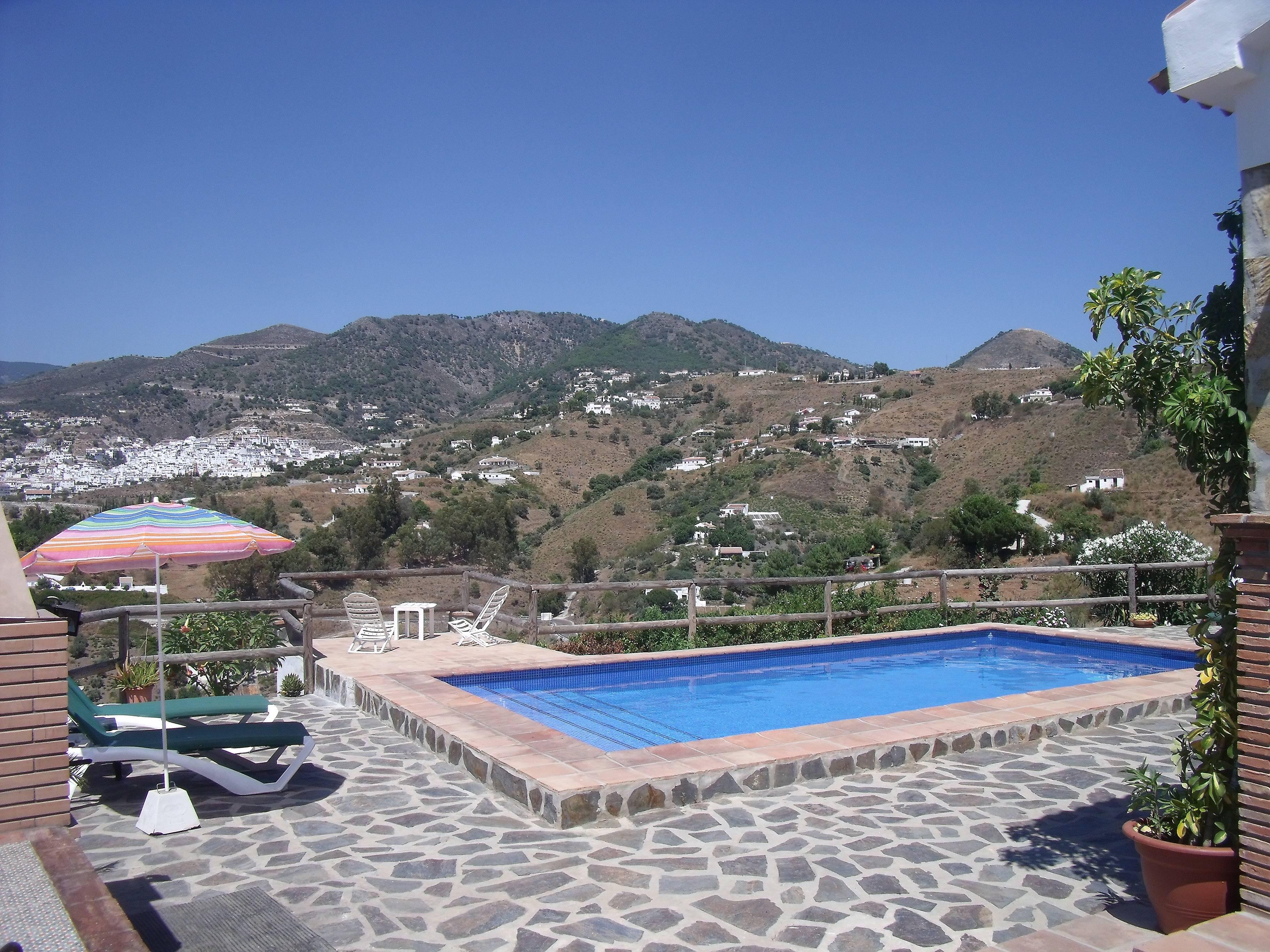 maison en location avec piscine c mpeta malaga axarqu a