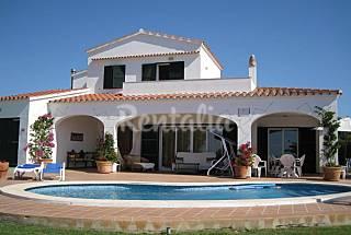Villa de 4 habitaciones a 200 m de la playa Menorca