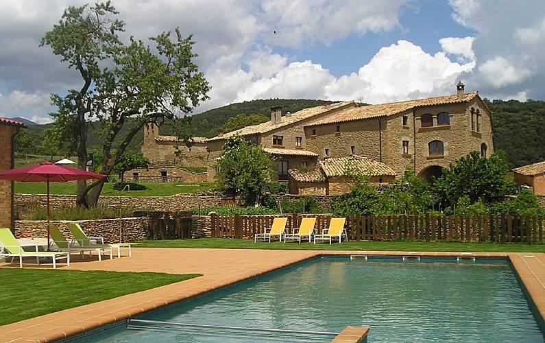 Casa Vilanova d'Isanta Lleida/Lérida - Exterior del aloj.
