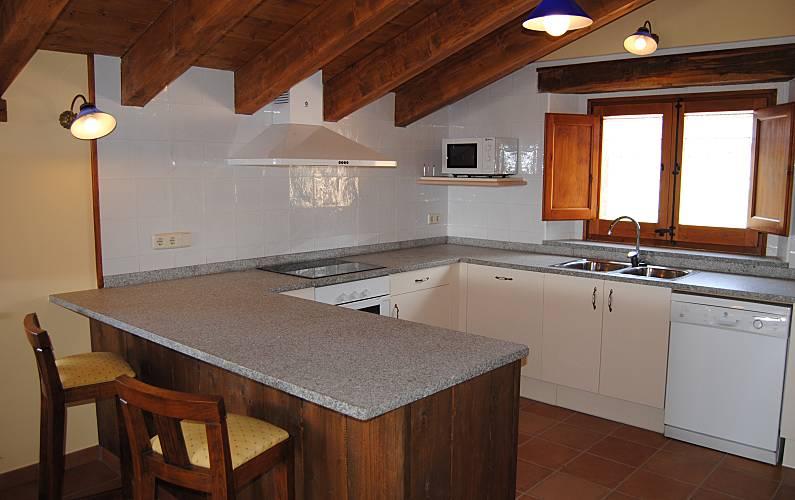 Casa Cocina Lleida/Lérida Lladurs Casa en entorno rural - Cocina